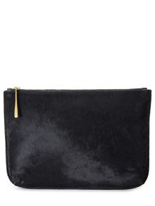 Jigsaw Alana large textured pouch