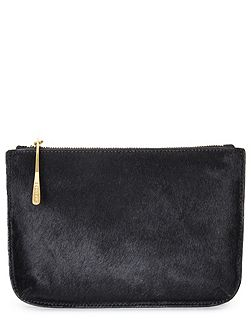 Alba medium textured pouch