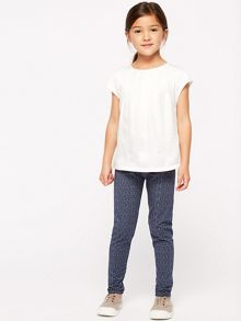 Jigsaw Girls Folk Sister Print Legging