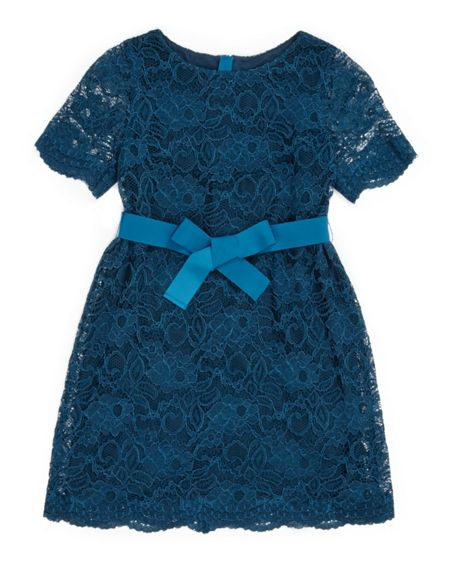 Jigsaw Girls Party Lace Dress