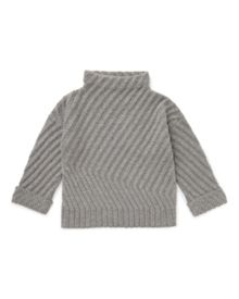 Jigsaw Girls Diagonal Rib Sweater