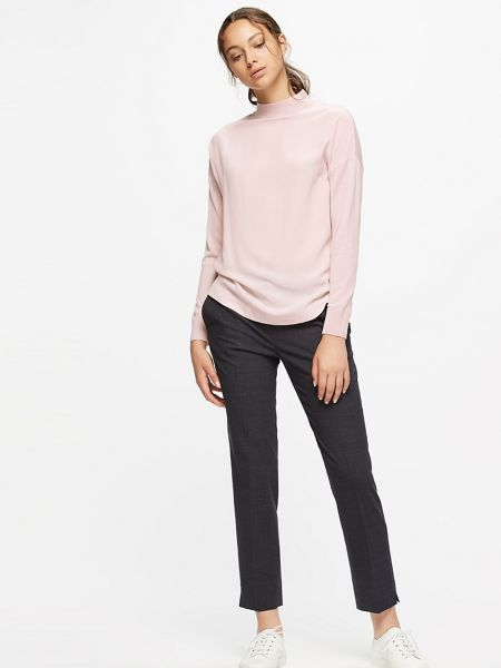 Jigsaw Silk Fronted Sweater