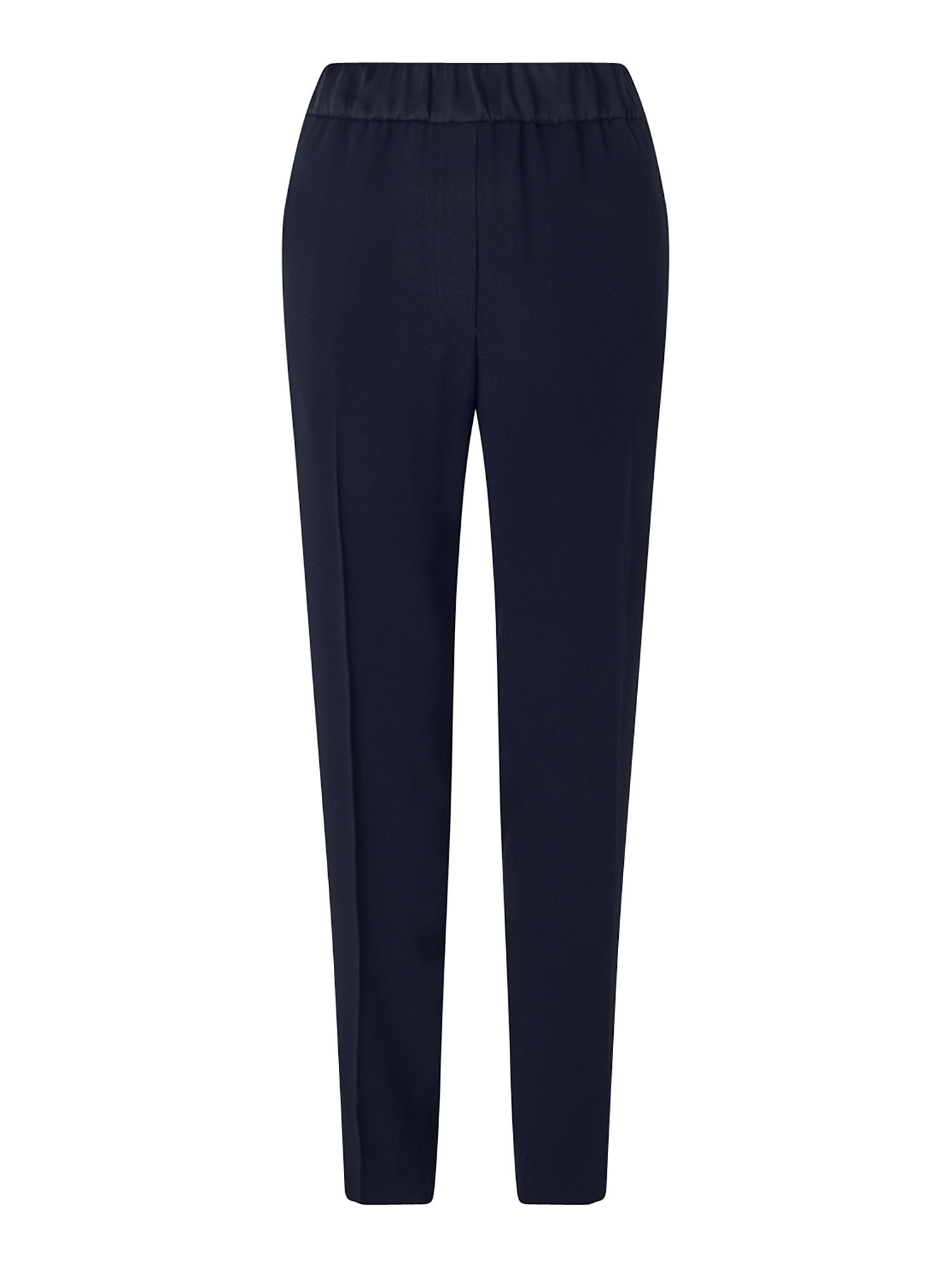 Jigsaw Relaxed Crepe Dinner Trouser, Blue