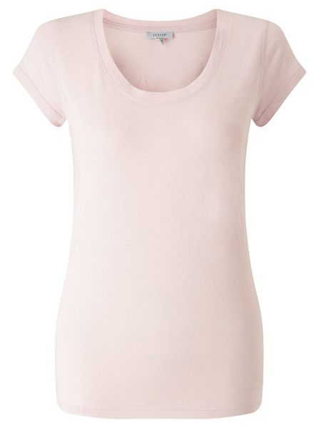 Jigsaw Pima Cotton Sleeveless Tee