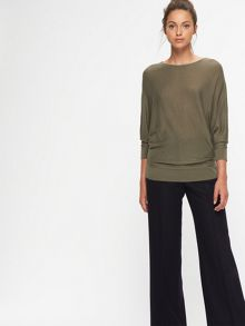 Jigsaw Boat Neck Batwing Sweater