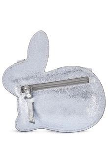 Jigsaw Girls Leather Bunny Cross Body