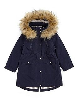 Girls Star Luxe Parka