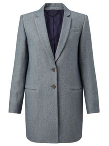 Jigsaw Compact Wool Twill Jacket