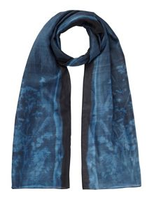 Jigsaw Floral exposure silk scarf