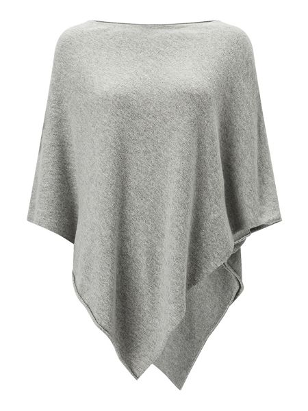 Jigsaw Rolled Edge Poncho