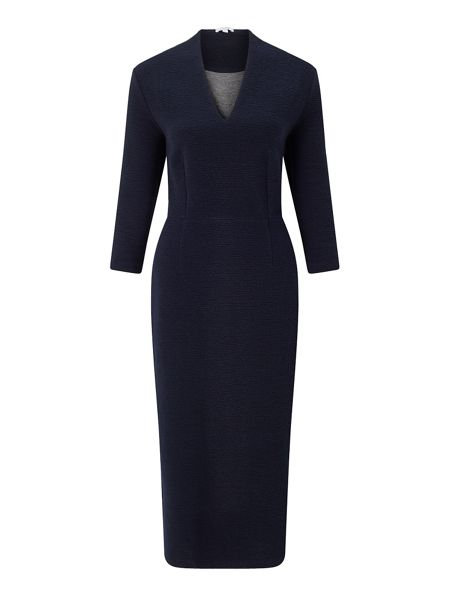 Jigsaw Textured Jersey Dress