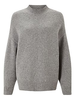 Sculpted Sleeve Sweater