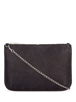 Large pouch with chain