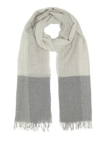 Jigsaw Oversized border scarf