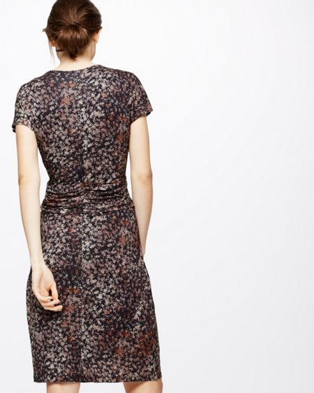 Jigsaw Shadow Floral Fit And Flare