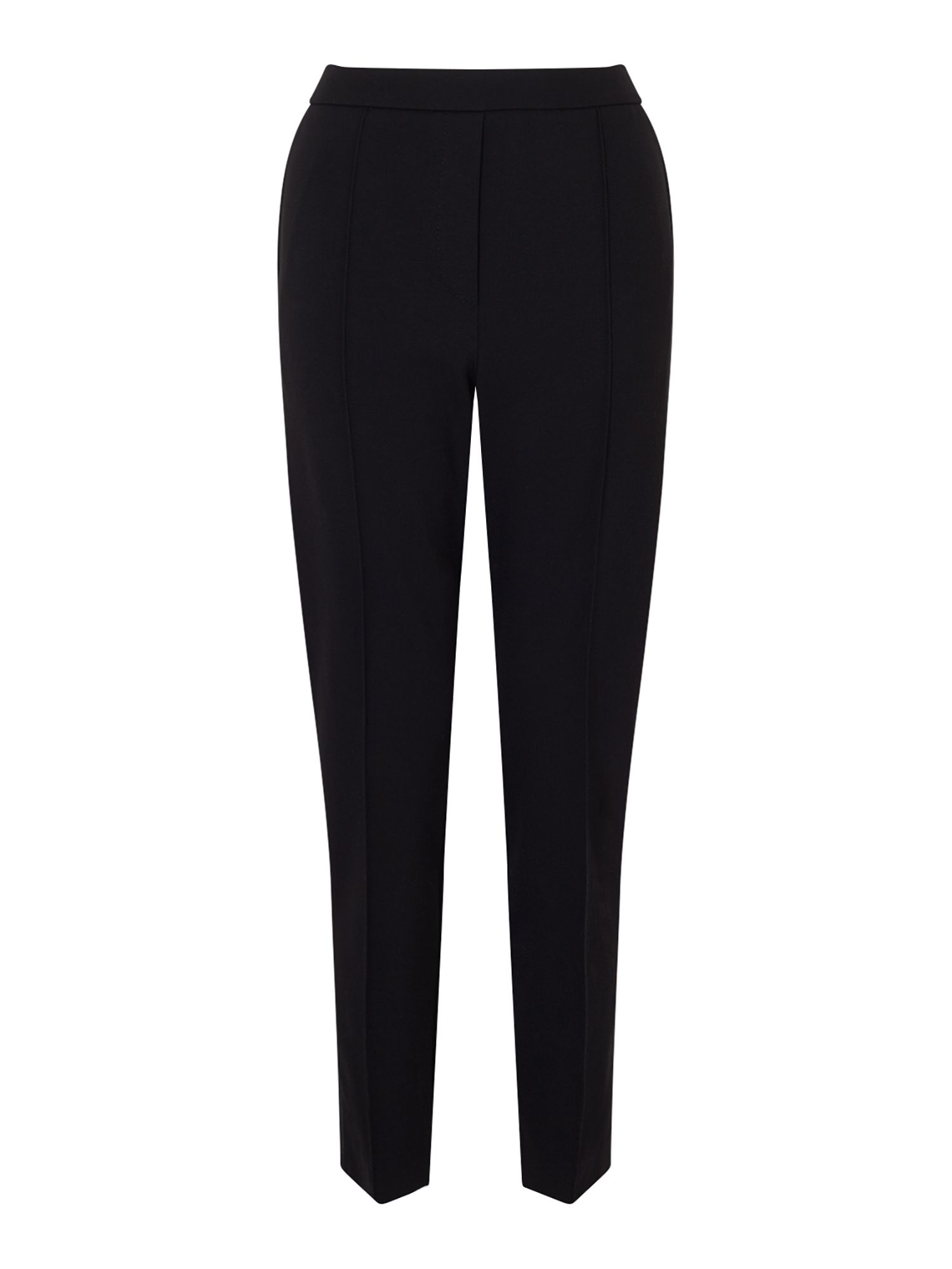 Jigsaw Lux Ponte Tailored Trouser, Black