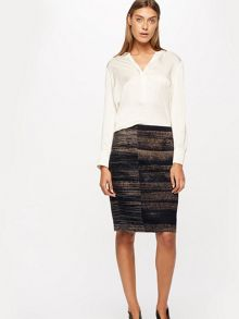 Jigsaw Urban Lines Pencil Skirt
