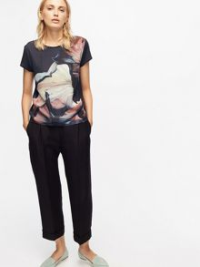 Jigsaw Magnified Flower Tshirt