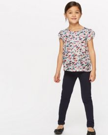Jigsaw Girls Scattered Heart Print Top