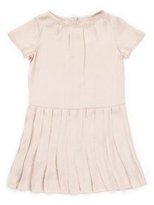 Jigsaw Girls Drop Waist Pleat Dress