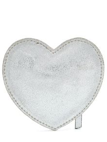 Jigsaw Girls Leather Heart Coin Purse