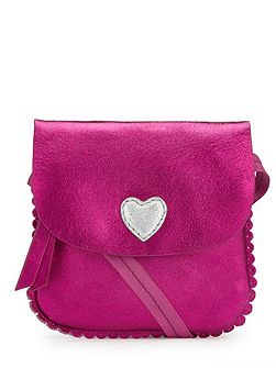Girls Heart Crossbody Bag