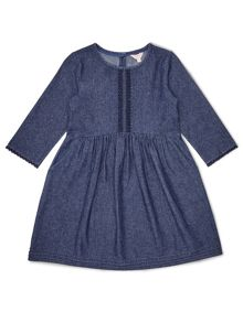 Jigsaw Girls Chambray Day Dress