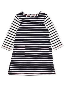 Jigsaw Girls Breton Stripe Dress