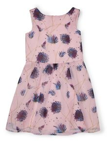 Jigsaw Girls Blooming Dandelion Print Dress