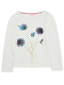 Jigsaw Girls Dandelion Spot Placement T-shirt