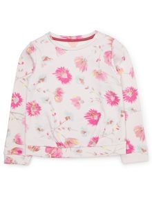 Jigsaw Girls Blooming Dandelion Sweater