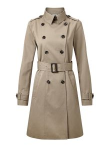 Jigsaw Trench Coat