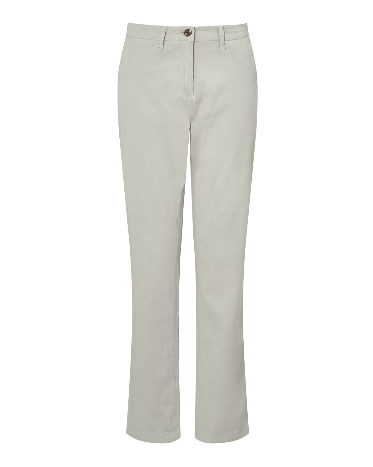 Jigsaw Washed Cotton Leg Chino, Grey