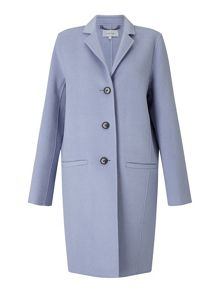 Jigsaw Double Face Oval Coat