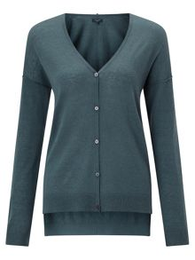 Jigsaw Wafer Cashmere Cardigan