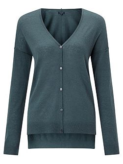Wafer Cashmere Cardigan