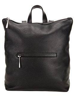 Stevie zip top backpack