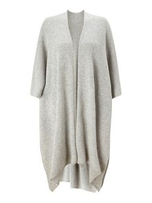 Jigsaw Knitted draped cape
