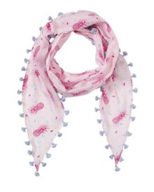 Jigsaw Girls Pineapple Print Scarf
