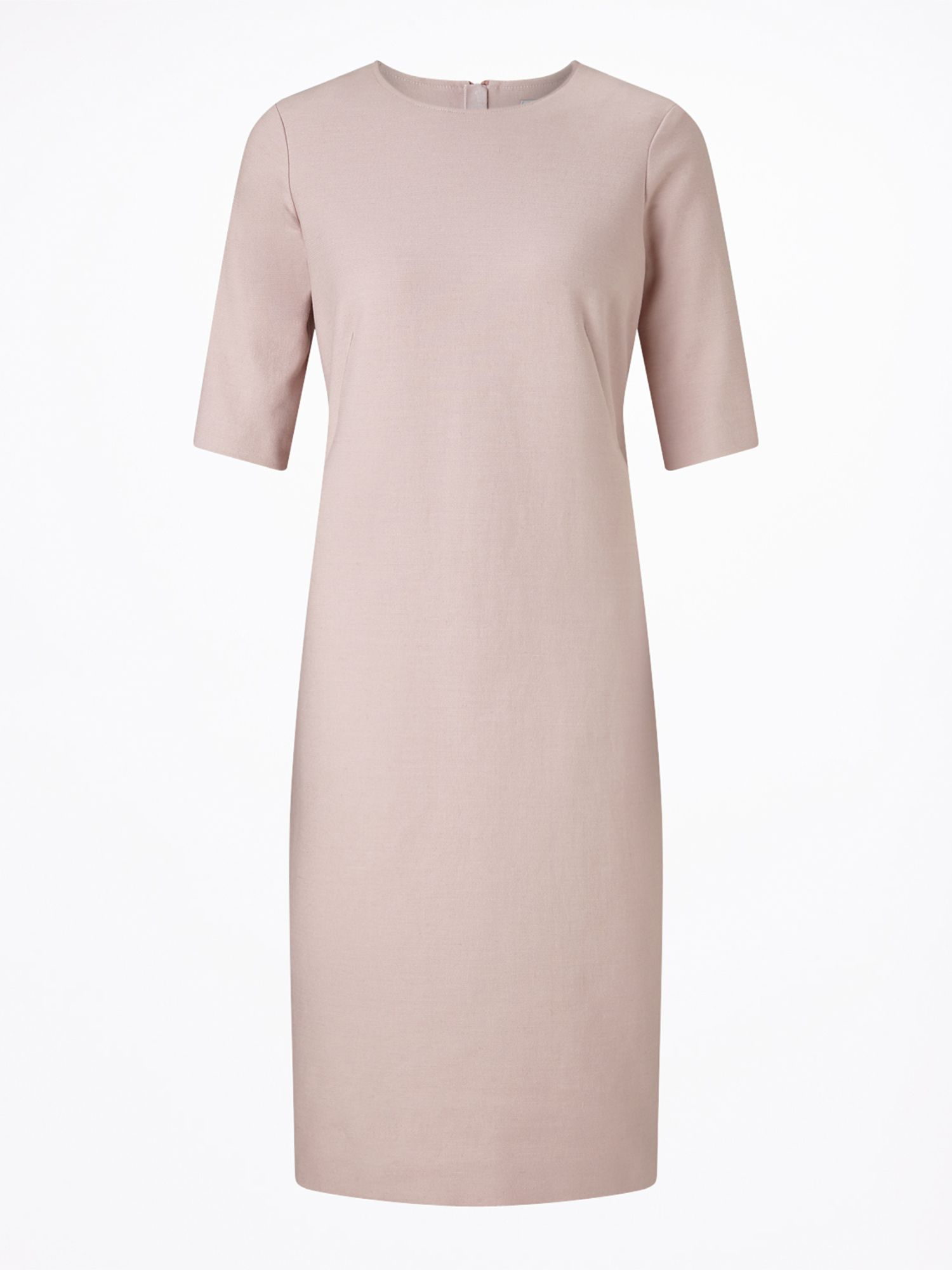 Jigsaw Compact Crepe Dress, Pink