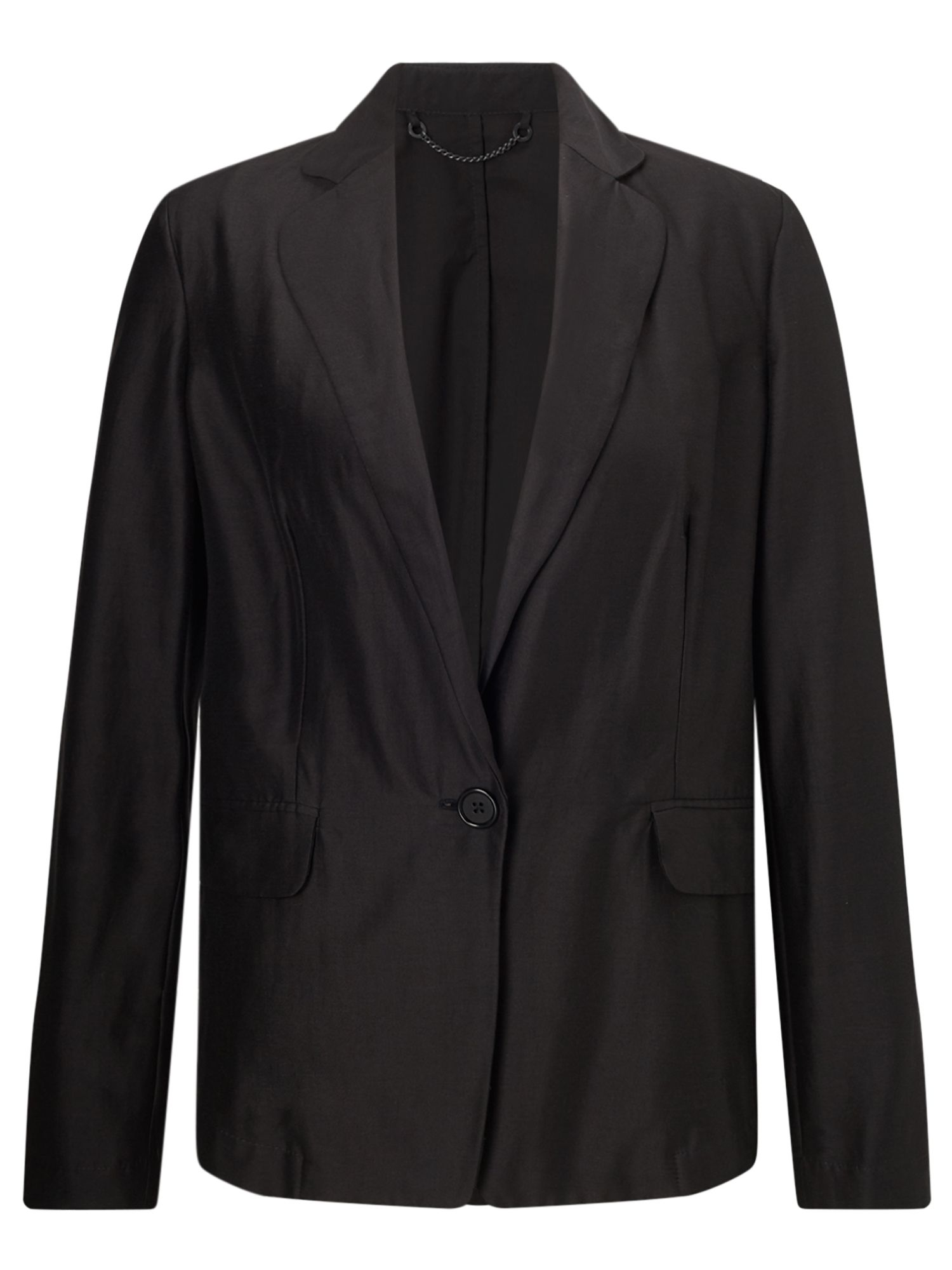 Jigsaw Feather Jacket, Black