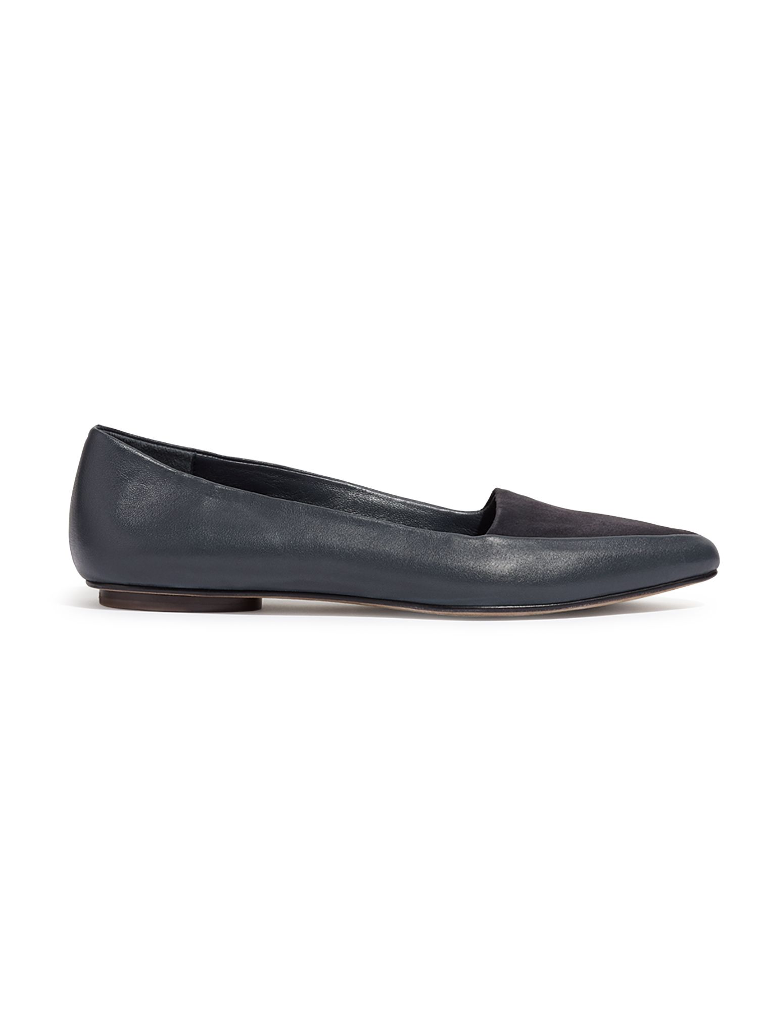 Jigsaw Clarence flat shoes, Blue