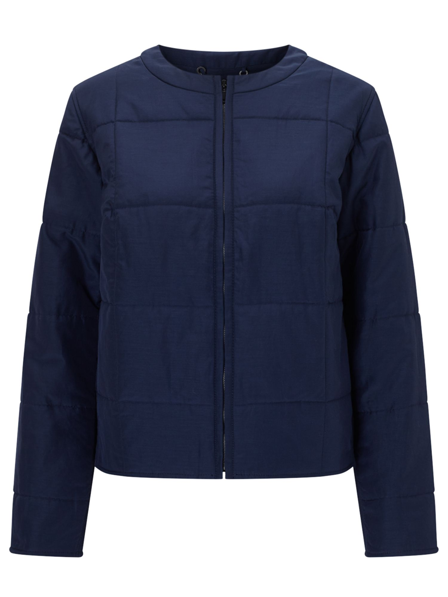 Jigsaw Quilted Jacket, Blue