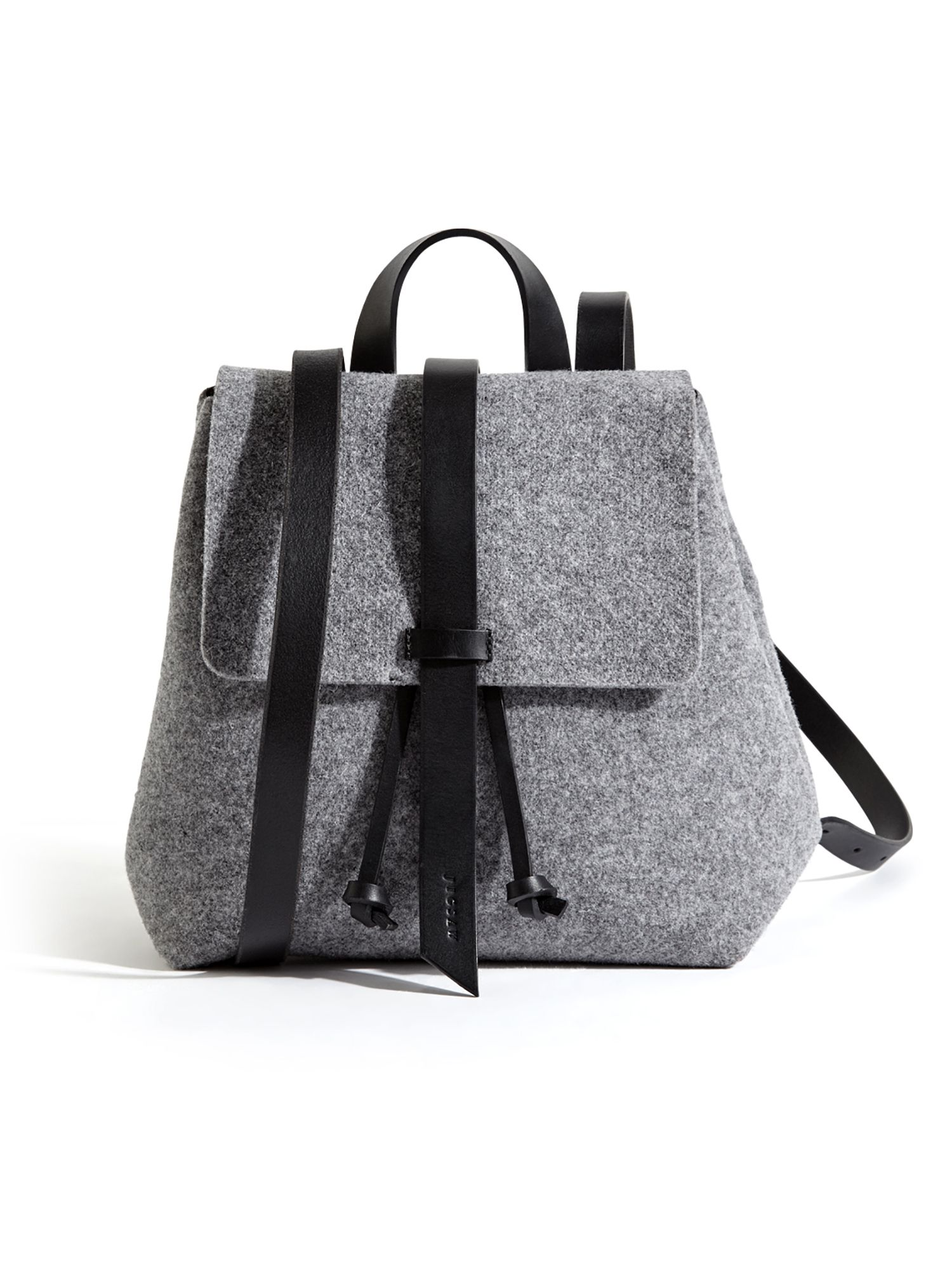 Bdg Grey Canvas Roll Top Backpack | LSG Electrical
