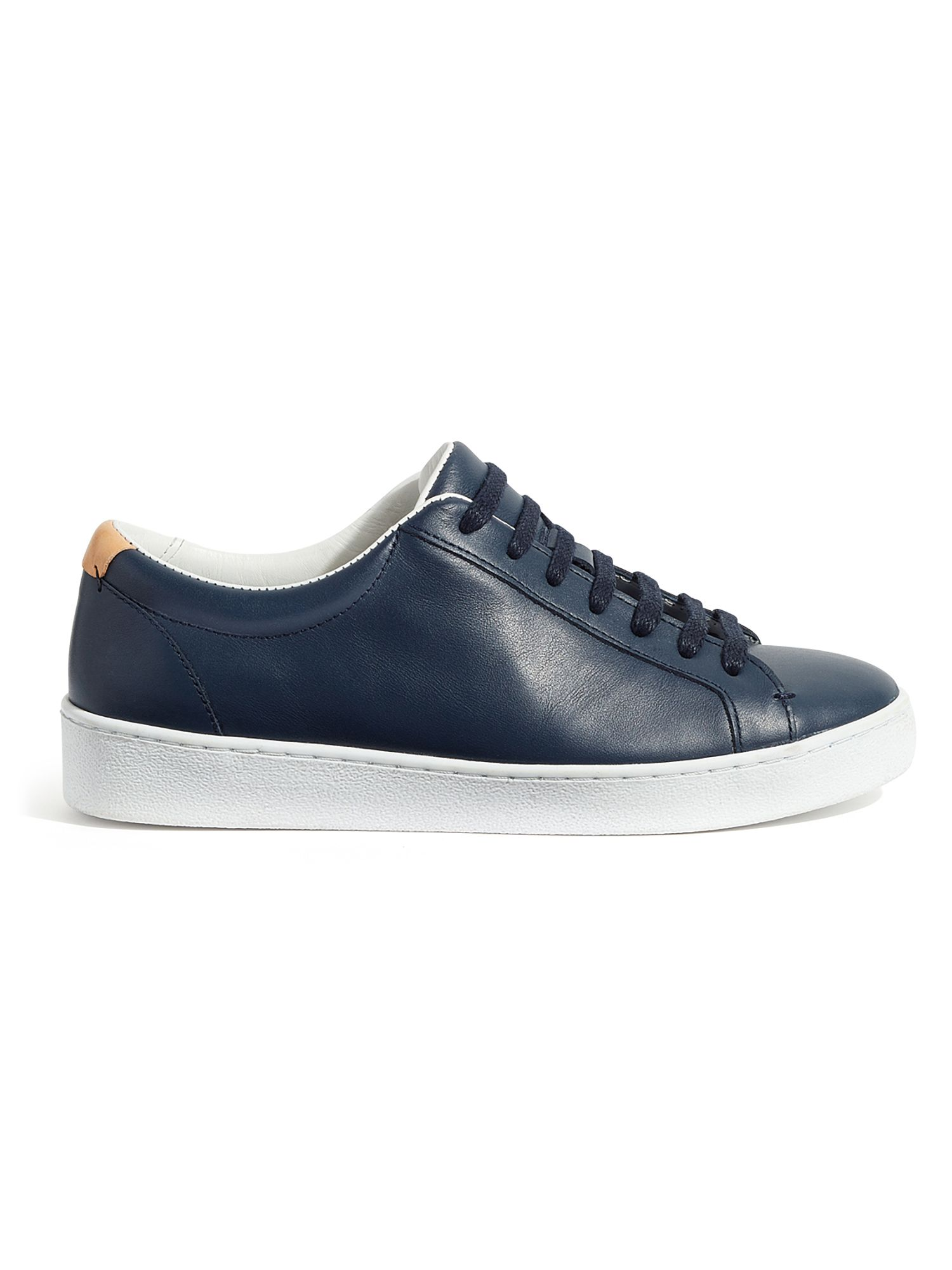 Jigsaw Amour Lace Up Trainers, Blue