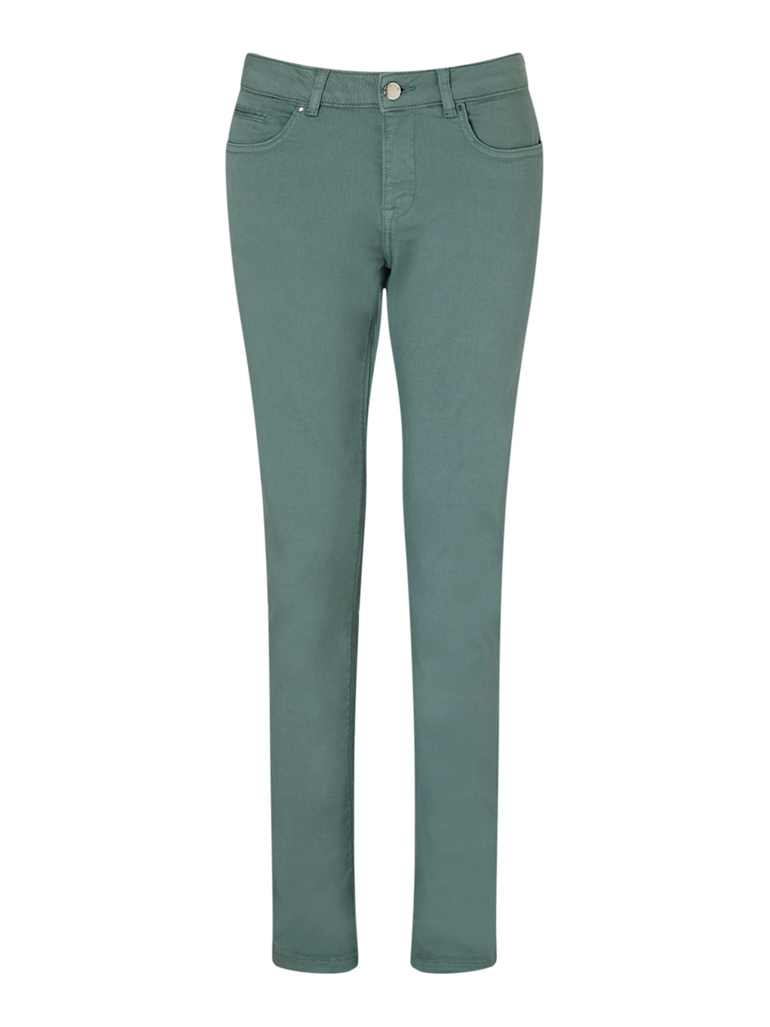 Jigsaw 28 Garment Dye Richmond Jean, Green