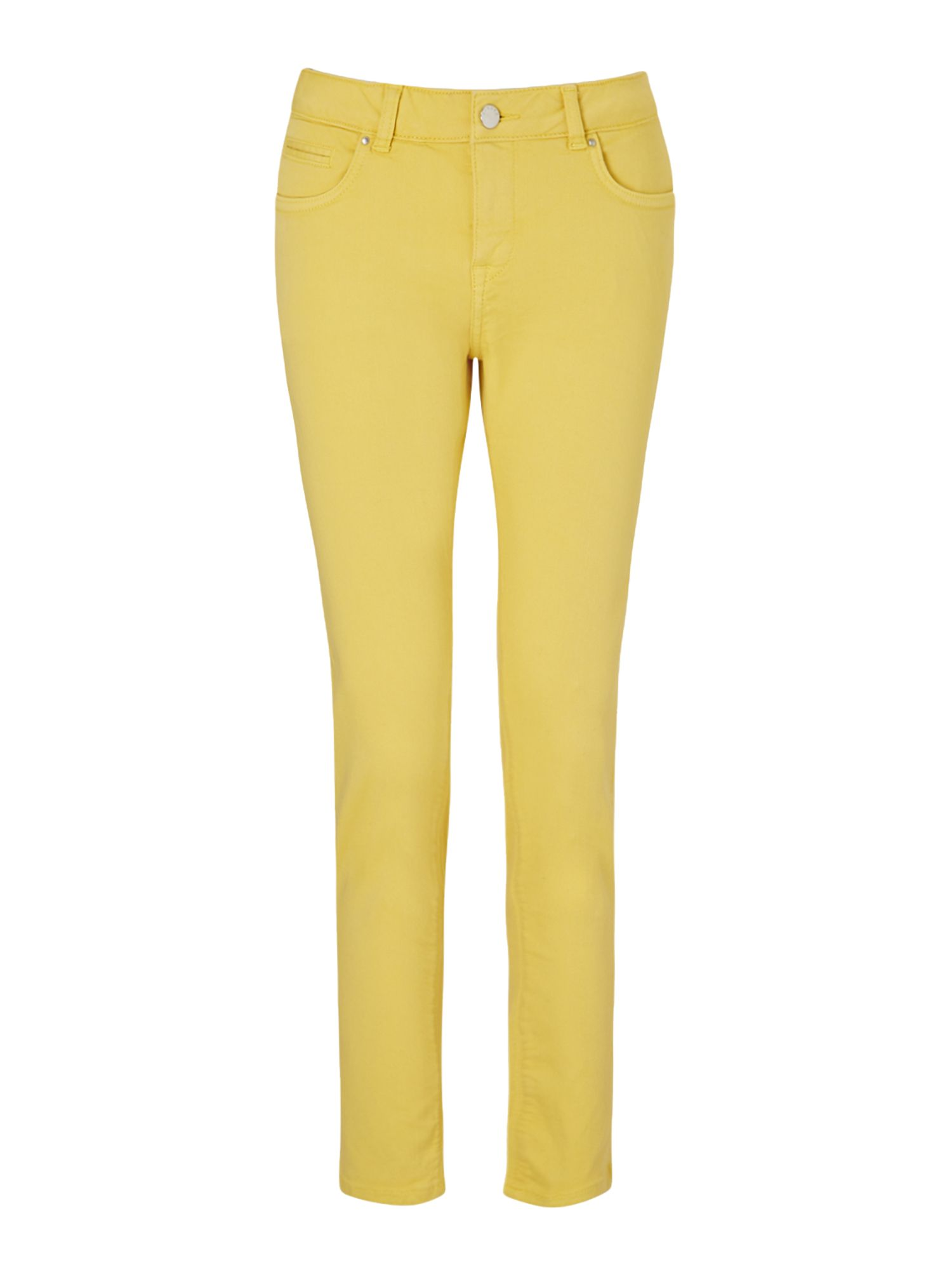 Jigsaw 28 Garment Dye Richmond Jean, Yellow