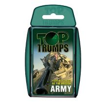 Top Trumps British army fighting forces