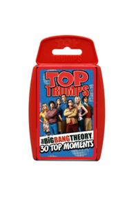 Top Trumps The Big Bang Theory Cards
