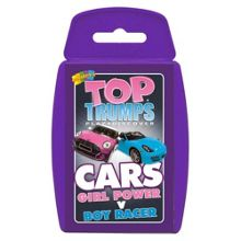 Top Trumps Cars - Girl Power Vs Boy Racer